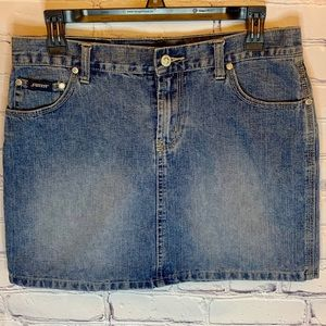 Squeeze l Blue Jean skirt
